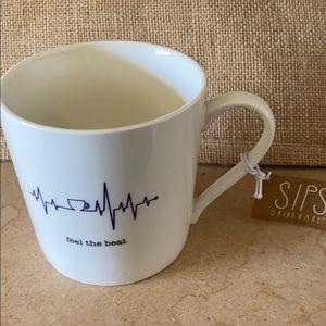 New coffee mug feel the beat pulse